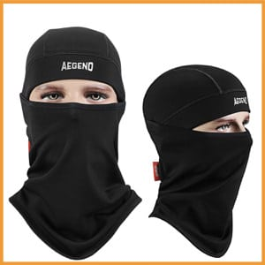Balaclava Aegend Windproof Ski Face Mask Motorcycle Neck Warmer