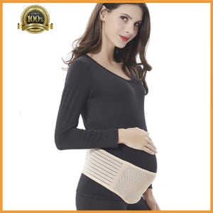 Babo Care Comfortable Breathable Belly Band for Pregnancy, Prenatal Cradle for Baby