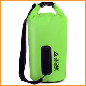 Leader Accessories PVC Waterproof Dry Bag for Boating and Camping