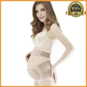 Babo Care OB Recommend Maternity Belt, Breathable Abdominal Binder