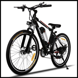 Ancheer Electric Mountain Bike - Classic Knight 8 Ah