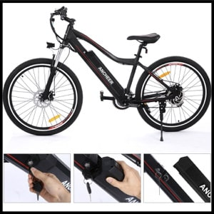 Ancheer Electric Mountain Bike - Swift Horse 12 Ah