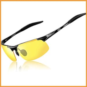 ATTCL Driving Polarized Sunglasses for Men Al-Mg Metal Frame