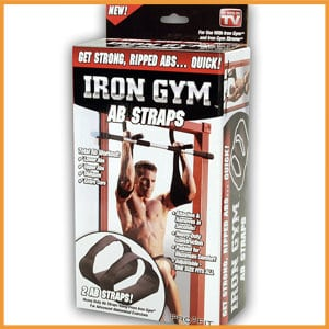 Iron Gym Ab Straps-Best Fitness Ab Straps