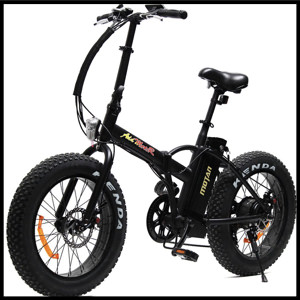 Addmotor MOTAN Folding Fat Tire Electric Bicycles Snow Beach Bike