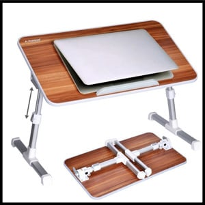 Avantree Quality Adjustable & Portable Laptop Table