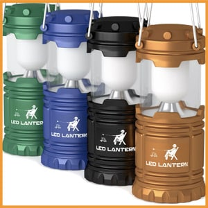 MalloMe LED Camping Lantern Flashlights Camping Equipment