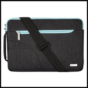 Mosiso Polyester Sleeve Case Cover Laptop Shoulder Briefcase Bag