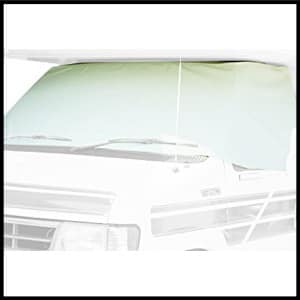 ADCO 2407 White Class C Ford 1996-2015 Windshield Cover