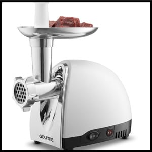 Gourmia GMG525 Meat Grinder, Stainless Steel
