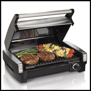 Hamilton Beach 25360 Indoor Flavor:Searing Grill