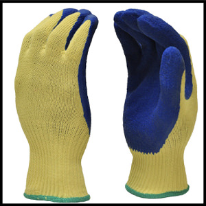 G & F 1607L Cut Resistant Work Gloves, 100-Percent Kevlar Knit Work Gloves