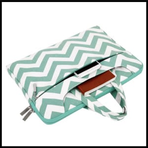 Mosiso Chevron Laptop Sleeve Case Cover Bag for 15-15.6 Inch Laptop