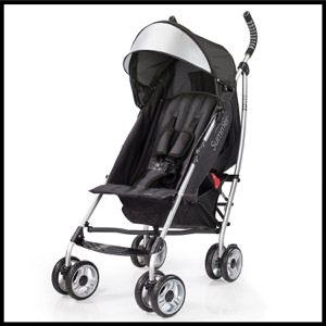 Summer Infant 3Dlite Convenient Stroller Black