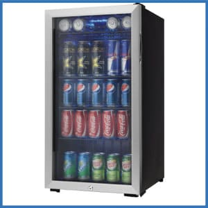 Danby 120 Can Stainless Steel Beverage Center