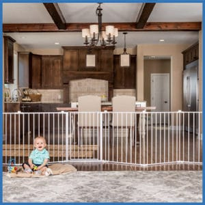 Regalo 192-Inch Super Wide Gate and Play Yard