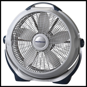 Lasko 3300, 20 Inch Wind Machine 3 Speed Cooling 3300