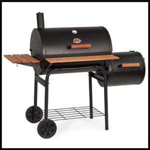 Char-Griller Smokin Pro 830 Square Inch Charcoal Grill