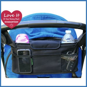 Pure Bliss Stroller Organizer Bag and Cup Holder