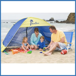 Shade Shack Instant Pop Up Family Beach Tent