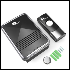 1byone Easy Chime Wireless Doorbell Kit