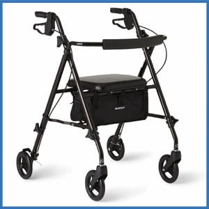 Medline Freedom Lightweight Rollator Walker
