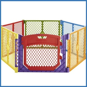 North States Superyard Colorplay Ultimate Playard
