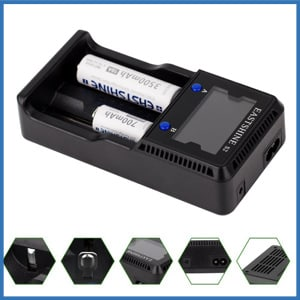 EASTSHINE S2 LCD Universal Battery Charger