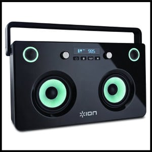 ION Audio Spectraboom Stereo Bluetooth Boombox