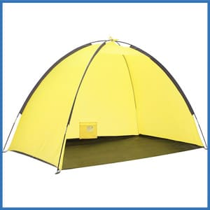 SEMOO Lightweight Beach Shade Tent Sun Shelter