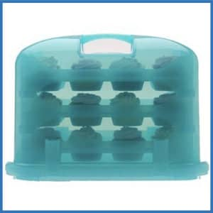 Cupcake Courier Plastic Storage Container