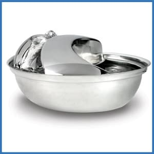 Pioneer Pet Stainless Steel Pet Drinking Fountain