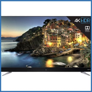 TCL 75-Inch 4K Ultra HD Roku Smart LED TV