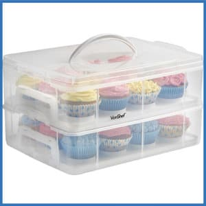 top 10 best cupcake carriers in 2019 reviews