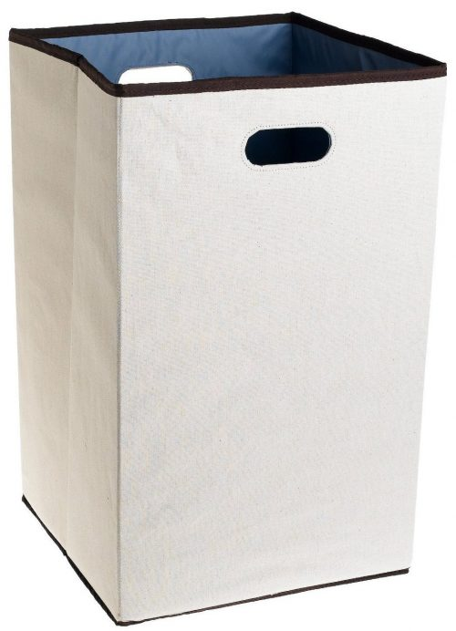 Rubbermaid 4D06 Configurations 23-Inches Foldable Laundry Hamper, Natural