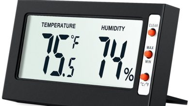 AMIR Indoor Digital Hygrometer Thermometer