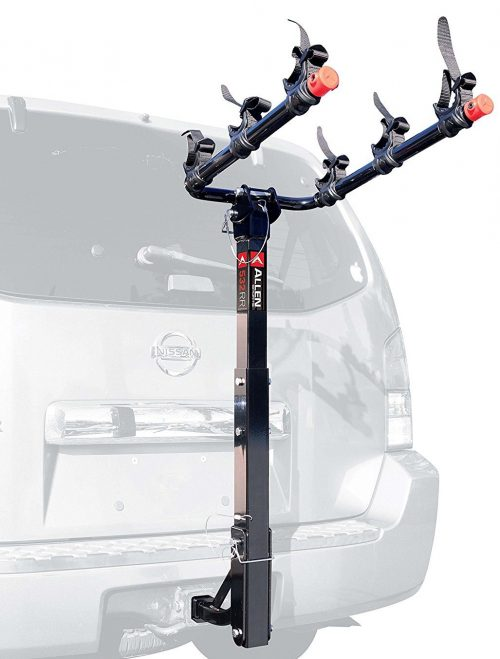 Allen Sports 3-Bike Hitch Mount Rack with 1.25//2-Inch Receiver