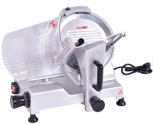 Giantex 10-Inch Blade Commercial Meat Slicer Industrial Quality Food Slicer