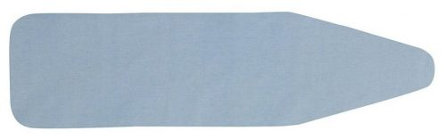 Household Essentials Cover and Pad for Over-The-Door Ironing Board, Blue Silicone Coated