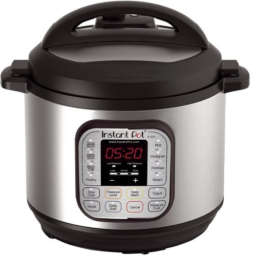 Instant Pot DUO80 7-in-1 Multi- Use Programmable Pressure Cooker, Slow Cooker, Rice Cooker, Steamer
