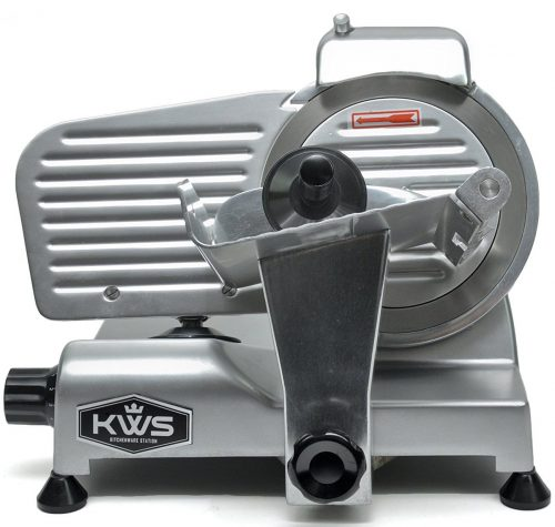 KitchenWare Station Premium 200w Electric Meat Slicer 6-inch Stainless Steel Blade