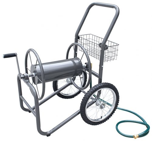 Liberty Garden Products 880-2 Industrial, 2-Wheel Pneumatic Tires Garden Hose Reel Cart