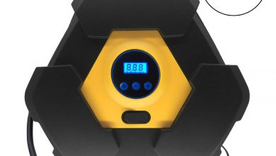 NOOX Tire Inflator, Air mattress Pump