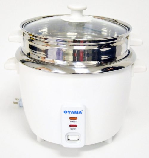 OYAMA Stainless 16-Cup Rice Cooker, Stainless Steel Inner Pot