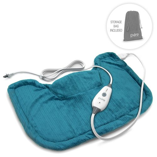 Pure Enrichment Neck & Shoulder Heating Pad, Fast-Heating Technology
