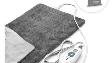 PureRelief XL - King Size Heating Pad, 6 Temperature Settings