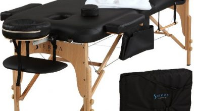 Sierra All-inclusive massage table