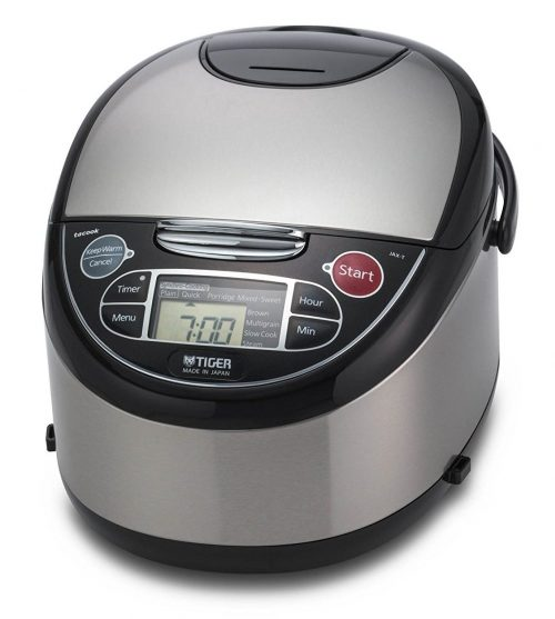 Tiger Corporation AX-T10U-K Micom Rice Cooker, Food Steamer & Slow Cooker