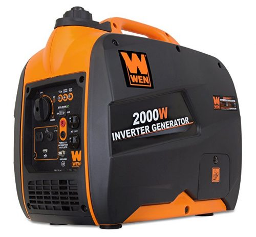 WEN 56200i 2000-Watt Portable Inverter Generator, CARB Compliant