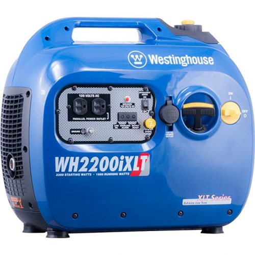 Westinghouse WH2200iXLT Portable Gas Powered Inverter Generator, CARB Compliant